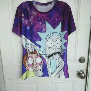 Tops - Rick and Morty top M